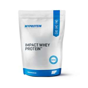My Protein 40% off Impact Whey (5kg Unflavoured £34.79, Flavoured £38.99 / My Bar Zero 12 bars £12.59/ My Pre 30 servings £14.99 + p&p