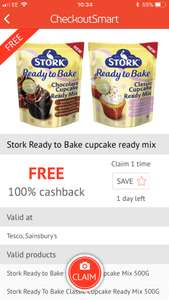 Stork Ready to Bake Cupcake Ready Mix FREE via Checkoutsmart