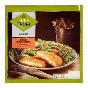 Morrisons Free From Breaded Chicken Steaks 400g for £1 @