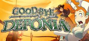 PC :- Goodbye Deponia £2.54 reduced from £16.99 ( Classic style point & click adventure ) ** Direct with Steam **