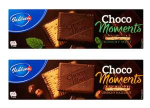 2 packs of Bahlsen Choco Moments 120G 1/2 Price now 99p(each) via CheckoutSmart - usually £1.99 at Tesco