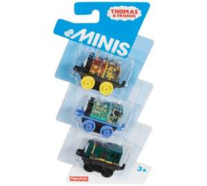 Thomas & Friends Minis 3-Pack Assortment £3.49 Argos
