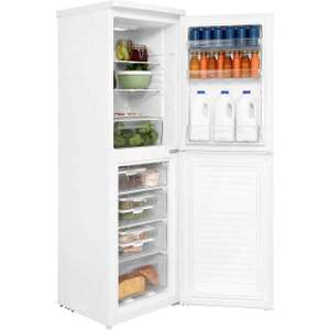 Candy CSS5175WE A+ Fridge Freezer 50/50 55cm Free Standing White Frost free @ AO ebay for £215.10 with code