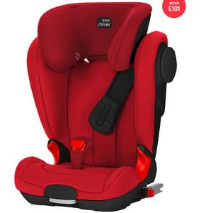 Britax Römer KIDFIX II XP SICT Car seat *Flame Red/Black* £99 @ Mothercare
