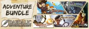 PC :- Daedalic Adventure Bundle £4.09 Reduced from £40.99 (Direct with Steam) 5 Adventure games :- Memoria + Deponia + The Night of the Rabbit + The Whispered World Special Edition + Edna & Harvey: Harvey's New Eyes