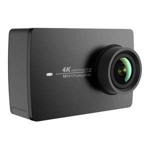 YI 4K Sports Action Camera 4K/30fps Ultra HD Wide Angle Lens 2.19 Inch Touch Screen / Voice Control now £114.99 with onsite promo @ Amazon Sold by YI Official Store UK and Fulfilled by Amazon