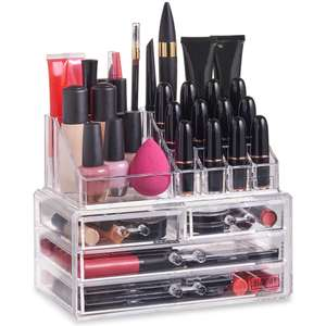 Beautify Makeup Organiser With 4 Drawers (makeup not included) £9.99 delivered @ Domu