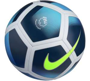 Nike Premier League Strike White & Royal Blue Football. Was £12.99 now £8.99 @ Argos