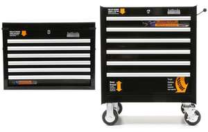 Halfords 6 drawer rolling and 6 drawer top cabinet deal for £279.30 with code - (free c&c / £39.99 delivery)