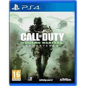 Call Of Duty Modern Warfare Remastered + Wolfenstien 2 - AO eBay store for £36