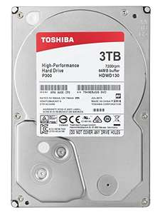 "Toshiba P300 3TB 7200RPM 3.5"" - £63.49 at Amazon"