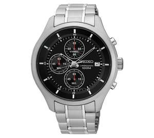 Seiko Men's Chronograph Stainless Steel Watch now only £51.99 at Argos for £51.99