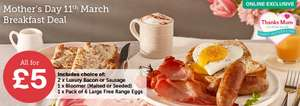 £5 Luxury breakfast Mothers Day Deal @ Iceland