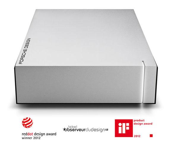 Lacie Porsche Design Aluminium 4TB USB 3.0 Desktop Drive @ Ebuyer for £89.98