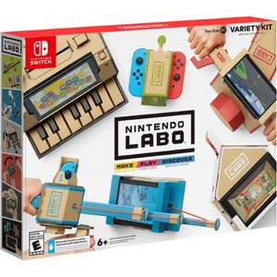 Nintendo Labo Variety Kit £49.99 //  Nintendo Labo Robot Kit £59.99 @ GraingerGames