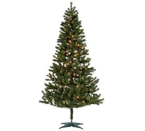 Snow is coming! Nordland 7ft Pre-Lit Christmas Tree - £10.49 from Argos