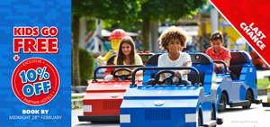 Family of four, 2 days entrance to LEGOLAND® Windsor Resort, 1 Night Hotel Stay, Breakfast and Kids Eat FREE at the Hotel from just £34.75pp (Based on a Fam 4)
