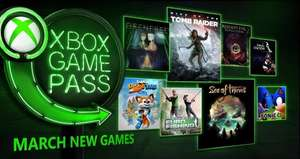 New Xbox game pass games coming March 1st