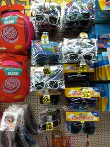 Poundworld Children's Character Sunglasses Spiderman / Paw Patrol / Avengers 50p each UV 400