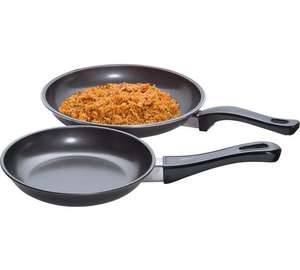 2 piece carbon steel frying pan set £1.79 @ Argos