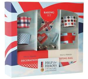 Bake for heroes cake decorating set FURTHER reduced now £1.99 @ Argos
