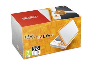 Nintendo Handheld Console - New Nintendo 2DS XL - White and Orange , £108.99(Updated 2/3/18) @ Grainger