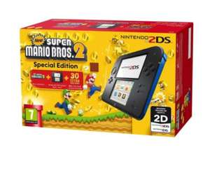 NINTENDO 2DS CONSOLE with SUPER MARIO BROS 2 Game Bundle(Damaged Box) £69.49 @  THENEWPC UK / Ebay or £72.99 (NEW) @Grainger
