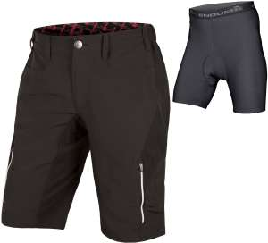 Endura singletrack iii shorts men's black L / XL Only incl padded inner shorts £29.99 @ Tredz