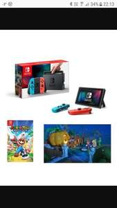 Nintendo Switch with Mario Rabbids game £289.99 @ Smyths