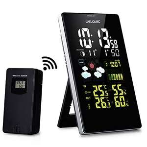 Digital Wireless Weather Station WELQUIC £26.99 delivered (lightning deal) @Amazon/ShangTong EU