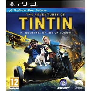 Preowned TinTin - £3.50 PS3 or £3 Xbox 360 - Quality game for pocket money price £3.50 @ Cex