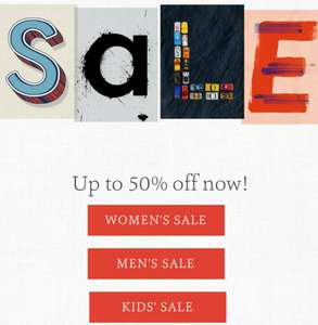 Fatface up to 50% sale, yet again! Started online today, in store tomorrow.