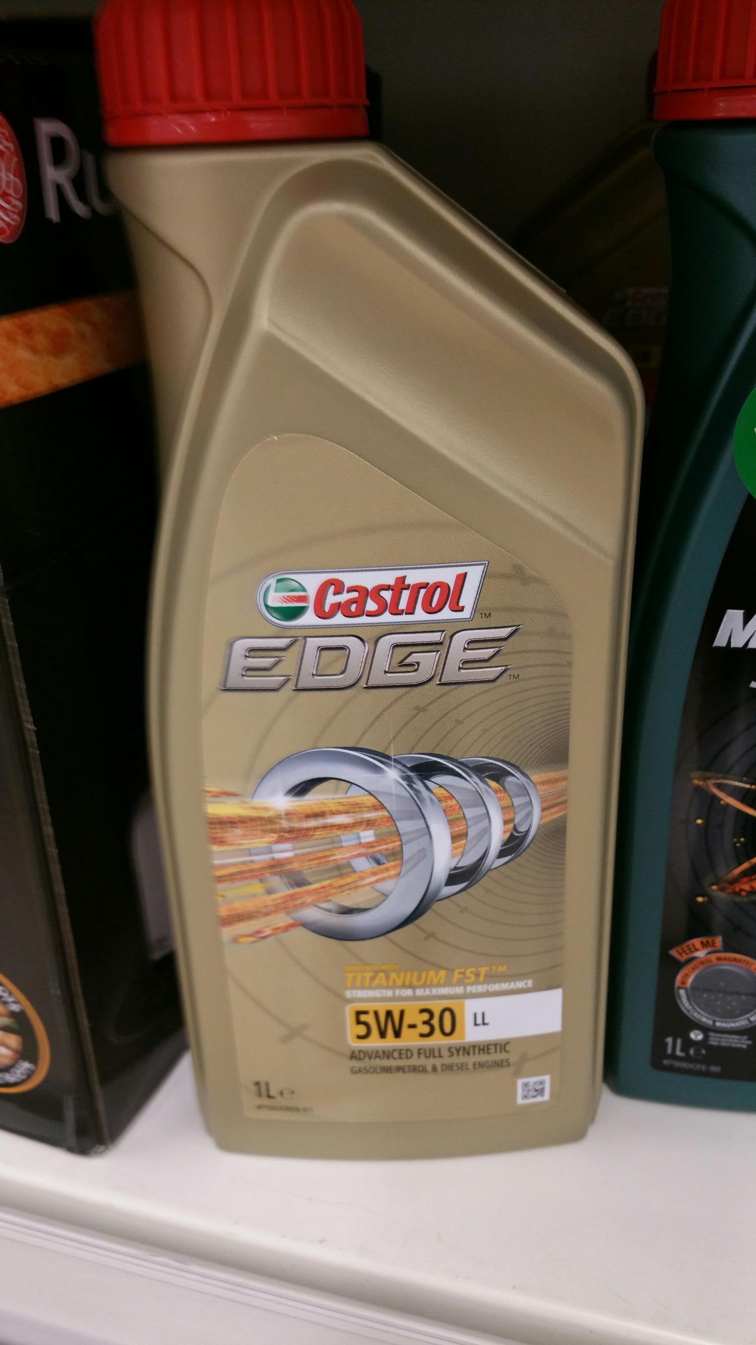 Castrol EDGE 5W30 50p instore @ Tesco