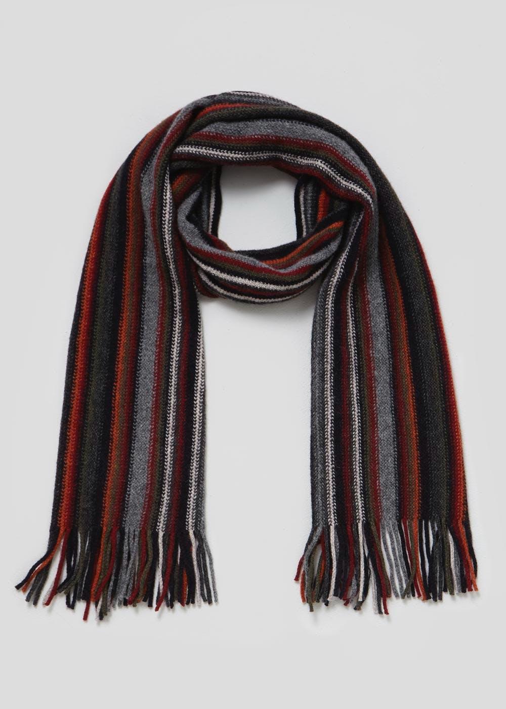 Men's multi stripe scarf £2 @ Matalan,free c+c