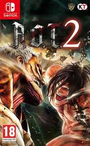 Attack on Titan 2 [Nintendo Switch] (pre-order) £35.99 at Grainger Games