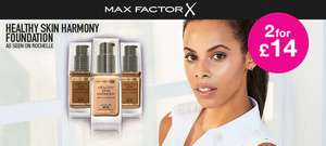 Max factor 2 products for £14 @ Superdrug