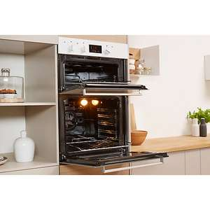 Indesit IDD6340 Built-In Electric Double Oven, Black £235 delivered @ John Lewis with 2 year warranty