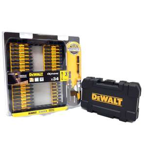 BACK IN STOCK DEWALT DT70545T - 34 PIECE IMPACT TORSION SCREWDRIVER SET WITH ALUMINIUM SCREW LOCK £16.79 @ Toolsense