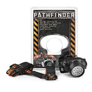 PATHFINDER 21 LED Headlamp Headlight £7.77 Prime / £11.76 Non Prime Sold by WowBox UK (EU-wide shipping) and Fulfilled by Amazon.