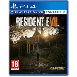 Resident Evil 7 Biohazard for PlayStation 4 £14.00 @ AO.COM + free next day delivery