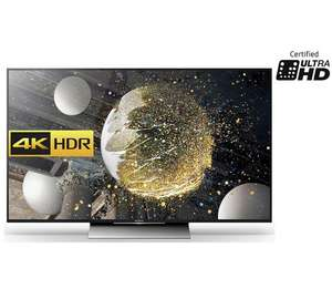 Sony KD55XD8005BU 55 Inch 4K HDR Ultra HD Smart Android TV £709 @ Argos