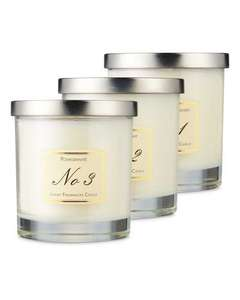 Luxury Fruits Candle Set (3 candles) £9.99 Del @ Aldi