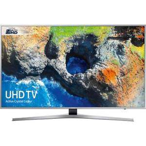 SAMSUNG UE55mu6400 4k ULTRA HD TV WITH HDR SIlver £539 with code - AO on eBay