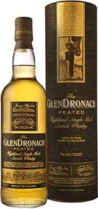 Glendronach peated single malt whisky for £29.94 from Amazon
