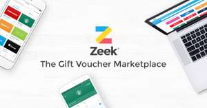 ZEEK £5 OFF NEW OR EXISTING CUSTOMER USE CODE BIG5 NEED TO SPEND £60