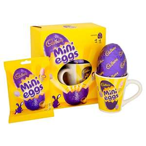 All Medium Easter Eggs + Mug (e.g Mini Eggs / Creme Egg / Toffee Crisp) £2 (From 28th Feb) @ Tesco