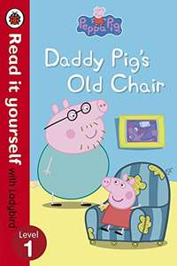 Ladybird Peppa Pig Read it yourself (Not World Book Day) books just £1 Prime / £2.99 Non Prime @ Amazon