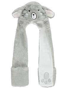 Bunny face hooded scarf ,low stock £4 was £9 @ Asda George