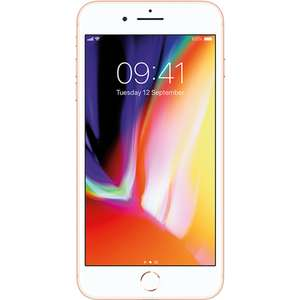 "Refurbished Grade A Apple iPhone 8 Plus Gold 5.5"" 64GB 4G SIM Free - £499.97 @ Laptops Direct"