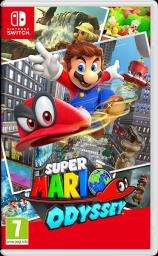 Super Mario Odyssey (Switch) - Used £34.99 @ Grainger Games